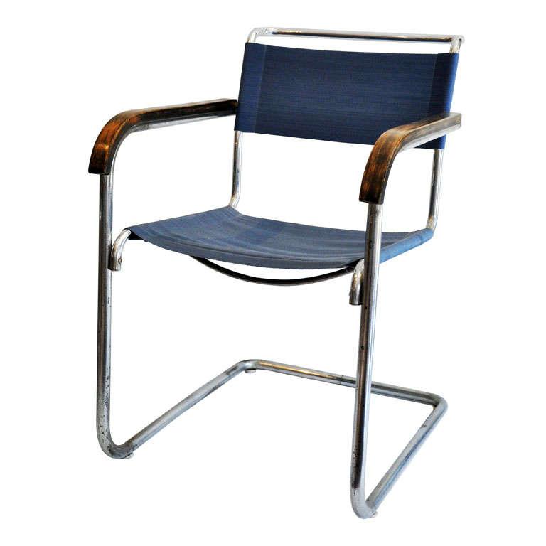 Marcel Breuer B34 Armchair, Bauhaus 1