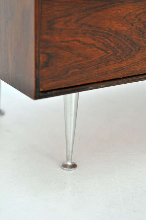 George Nelson - Rosewood Thin Edge Cabinet For Sale 2