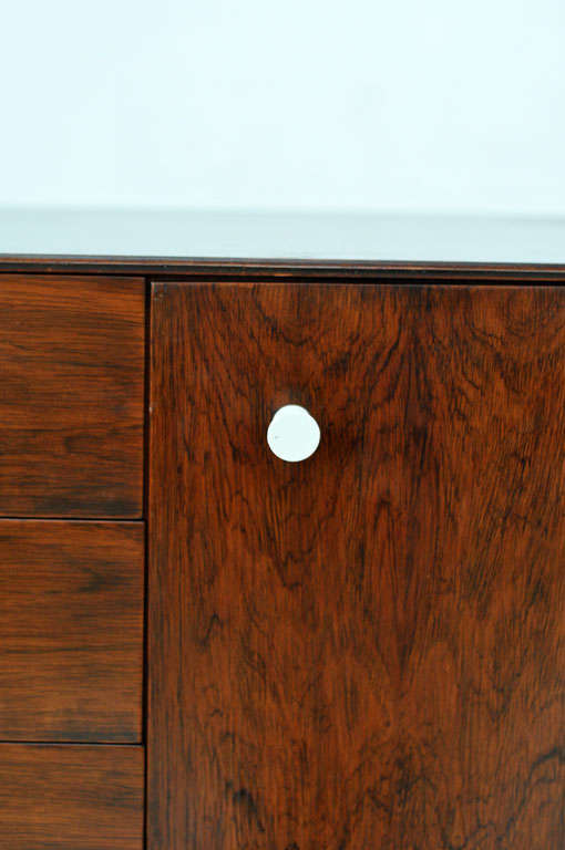 George Nelson - Rosewood Thin Edge Cabinet For Sale 3