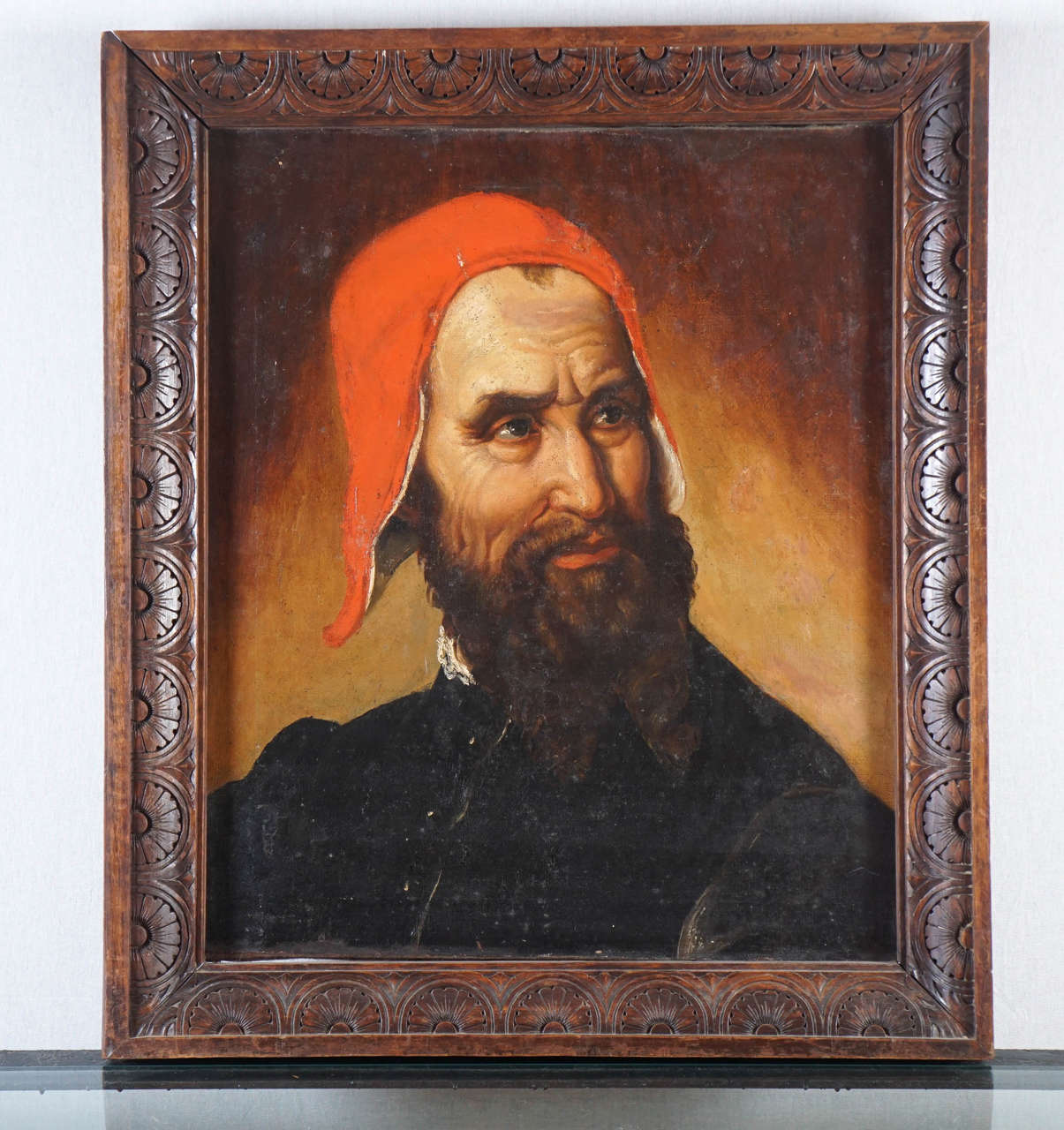 Oil Painting on Canvas of a Cardinal of the Roman Catholic ...
