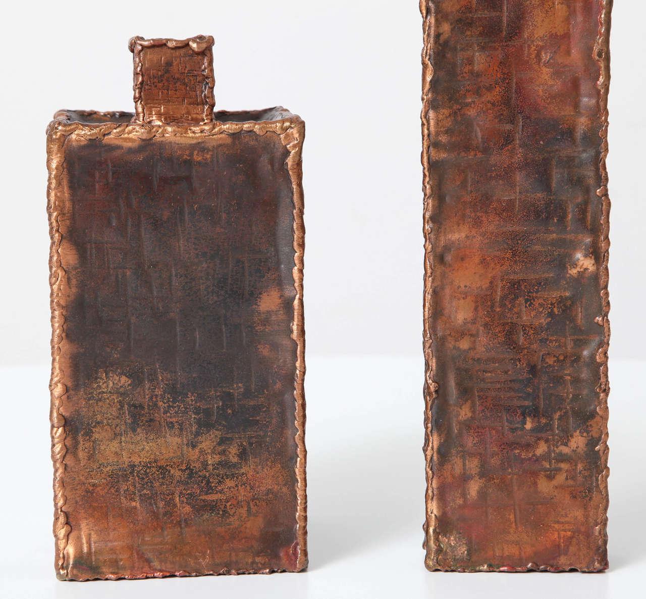 Mid-Century Modern Brutalist Vases by Marcello Fantoni for Raymor For Sale
