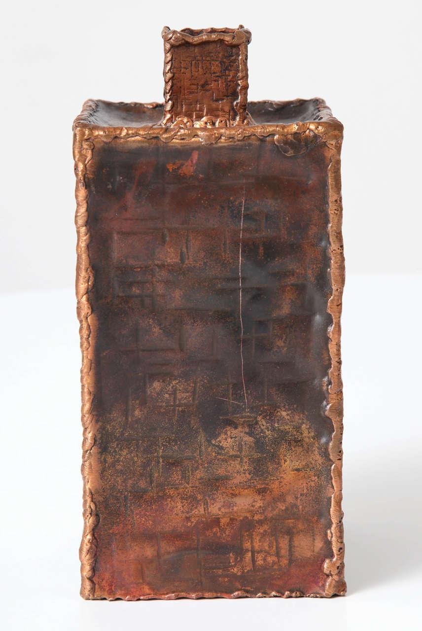 Mid-20th Century Brutalist Vases by Marcello Fantoni for Raymor For Sale
