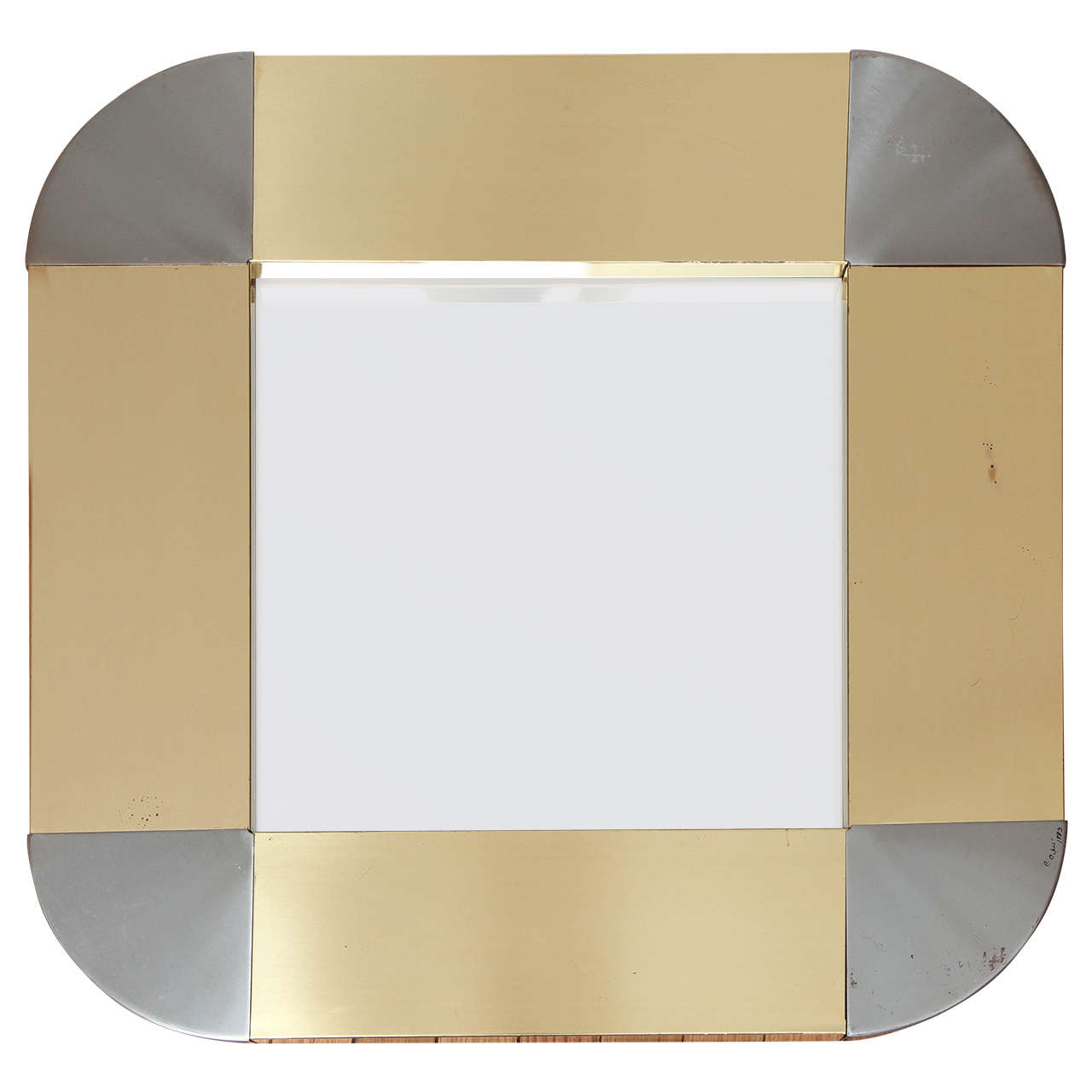 Signed Curtis Jere Mirror