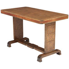 Rare Carl Bergsten Center Table