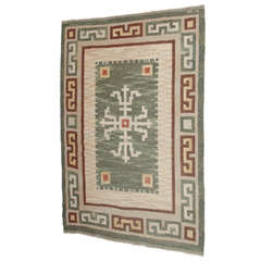Carl Dangel Flat-Weave Swedish Rug