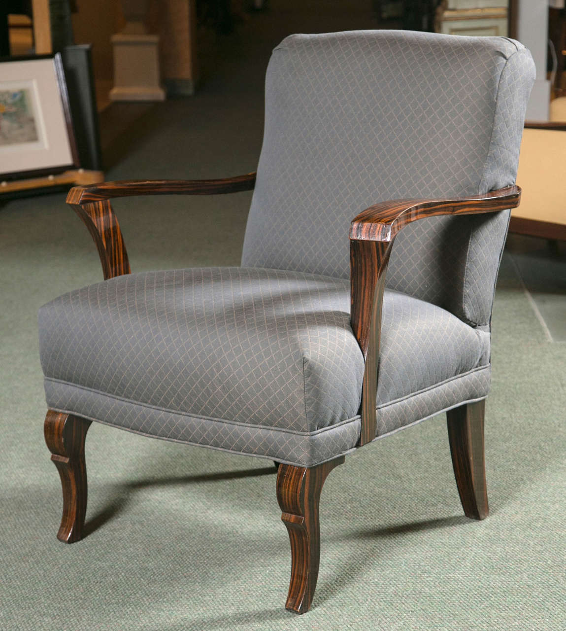 Pair of Art Deco Armchairs In Excellent Condition For Sale In Stamford, CT