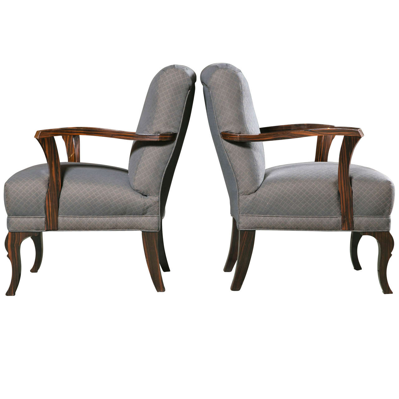Pair of Art Deco Armchairs