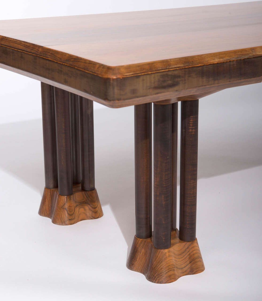 """Black Coffee Table South Africa: East African Paldao Wood """"Cluster"""" Rectangular Coffee"""