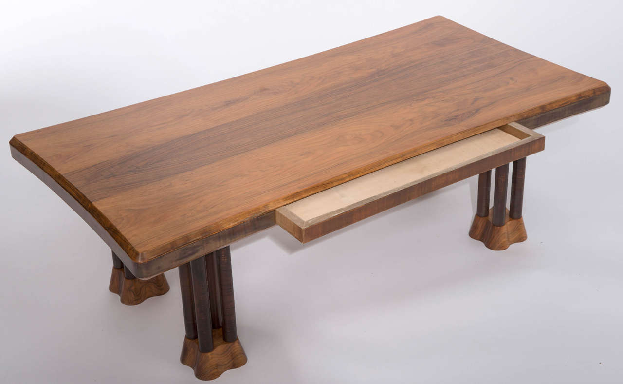 East african paldao wood cluster rectangular coffee table by john makepeace at 1stdibs African coffee tables
