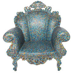 "Armchair ""the Proust"" by Alessandro Mendini."