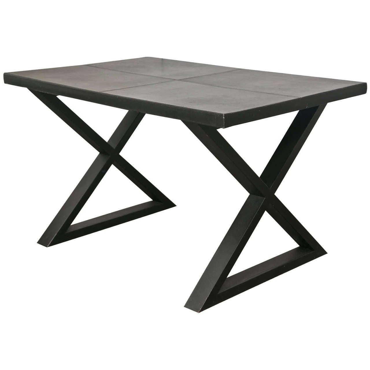 Dining Room Furniture Ct Modern Leather Desk At 1stdibs