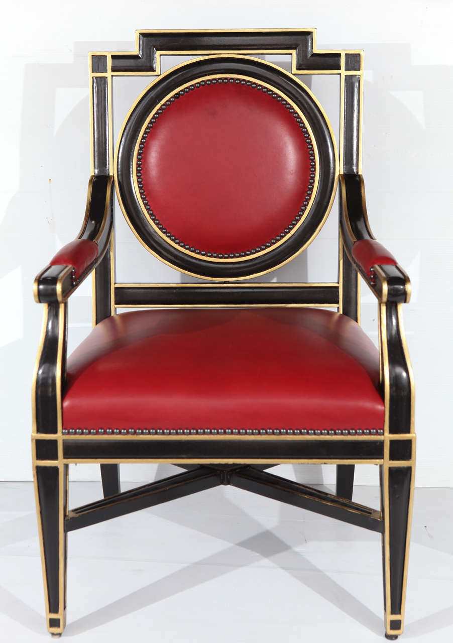 Expressive Set Of Ten French Chairs For Sale At 1stdibs