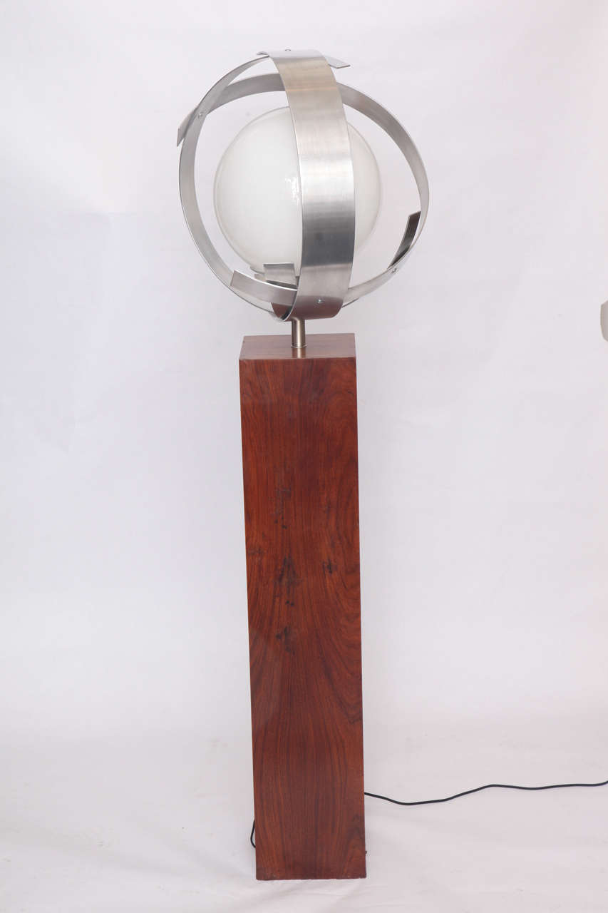 1960s Architectural Floor Lamp At 1stdibs