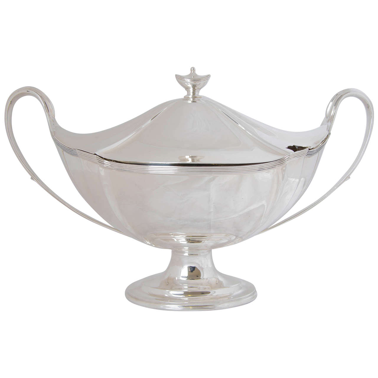 Antique Victorian Silver Soup Tureen