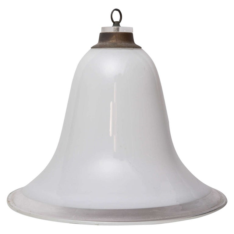 Murano Vintage Overhead Bank Lamp from 1940s Italy For Sale