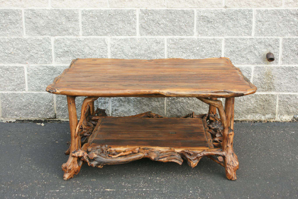Elm Root Coffee Table At 1stdibs