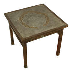 Unsigned LaVerne Side Table