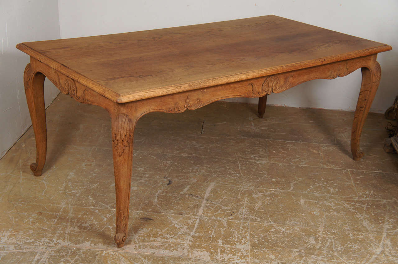 Country French Louis Xv Style Dining Table At 1stdibs