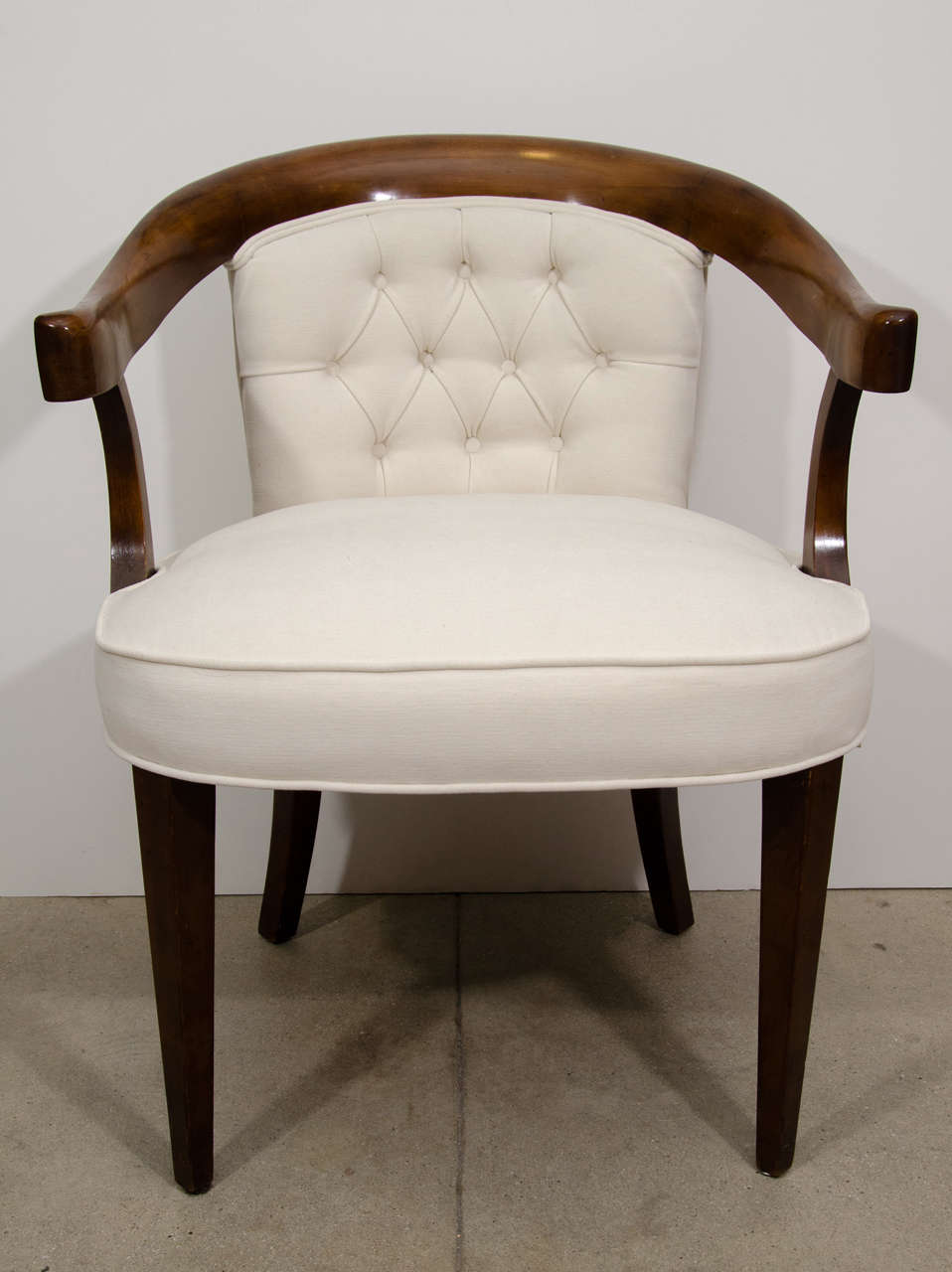 A Pair Of Vintage Baker Chairs At 1stdibs