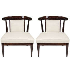 Pair of Superb Mid-Century Klismos Style Chairs
