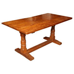 "Robert ""Mouseman"" Thompson Rectangular Table"