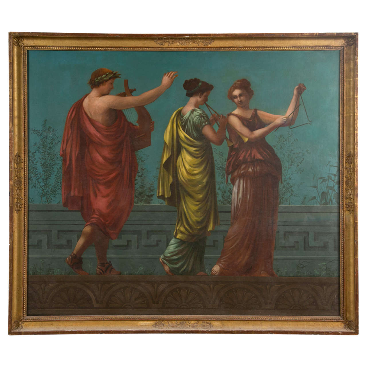 Neoclassical Painting For Sale At 1stdibs