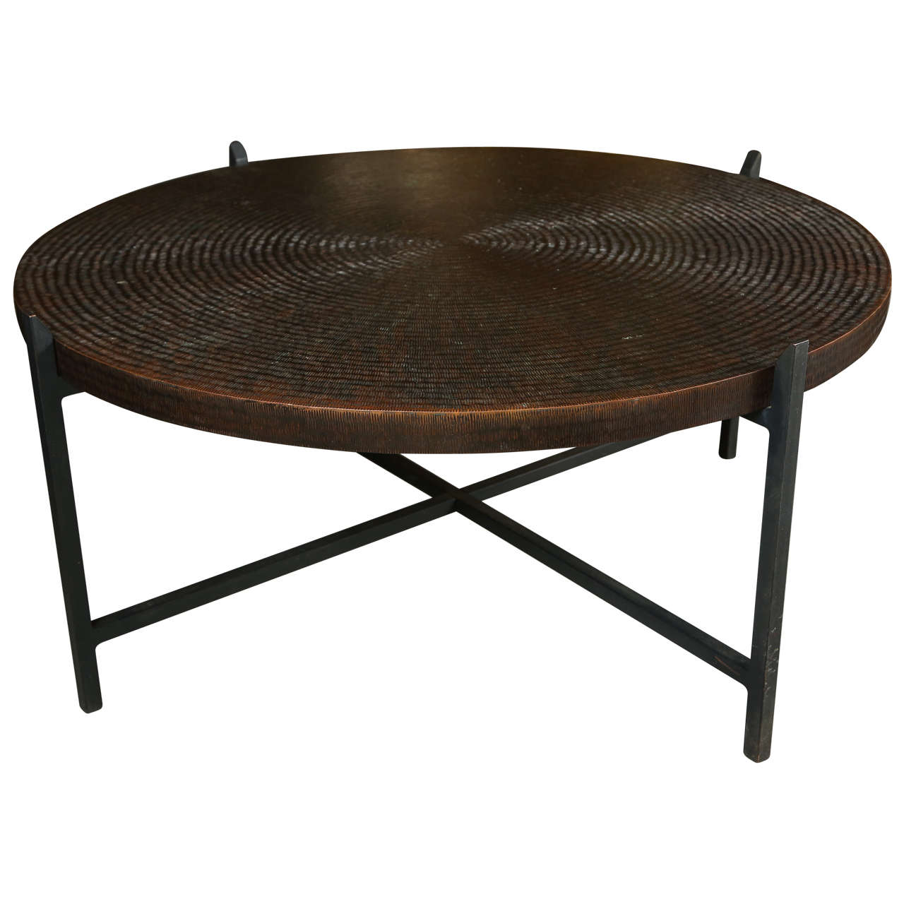 Bronze cocktail table at 1stdibs Bronze coffee tables