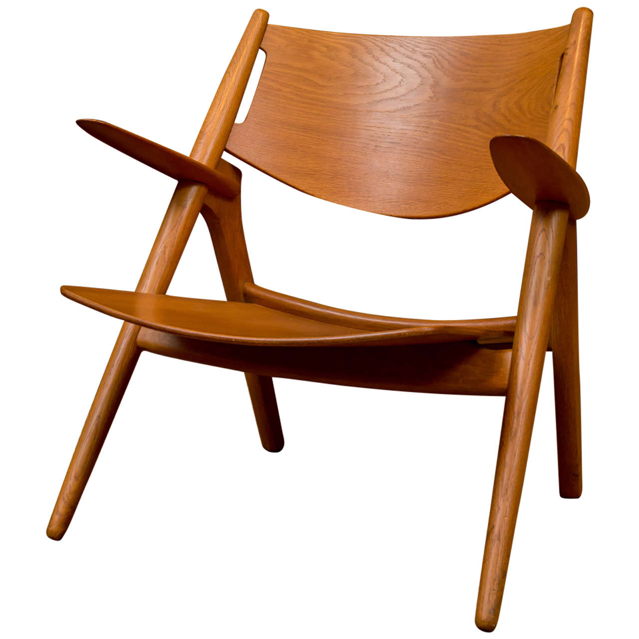 hans j wegner sawbuck chair for sale at 1stdibs. Black Bedroom Furniture Sets. Home Design Ideas