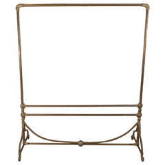 Wegmo Deco Brass Clothing Rack, 3 Rue Quituot, Lyon, France
