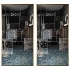 1960s Italian Patchwork Mirrors