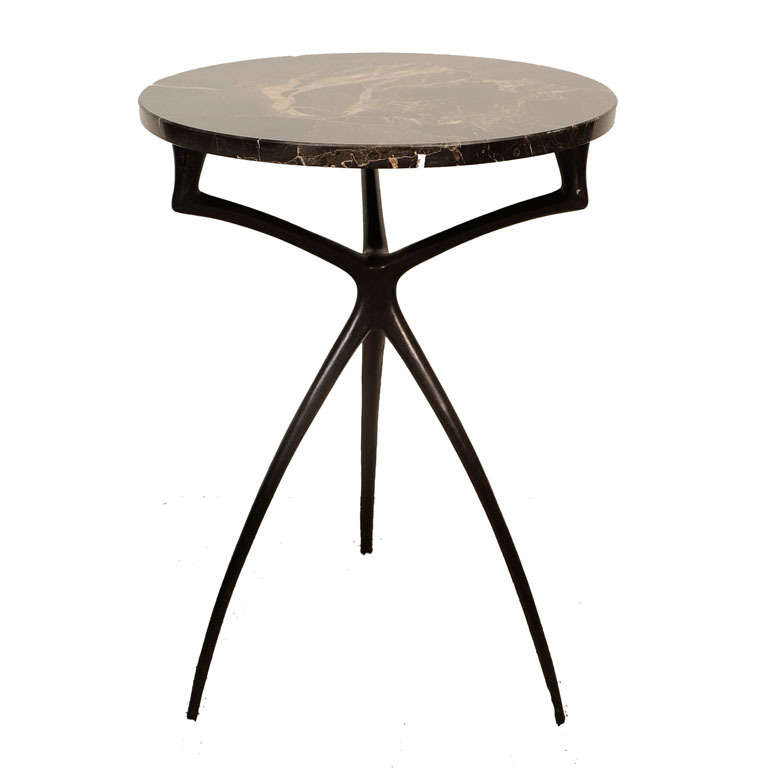 Atlante Side Or Drinks Table By Alexandre Loge For Sale