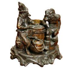 A Whimsical Animalistic Bronze
