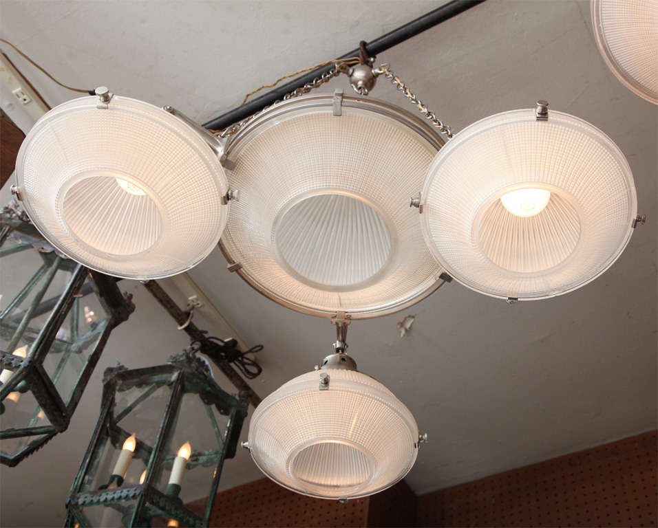 20th Century Bank Light For Sale