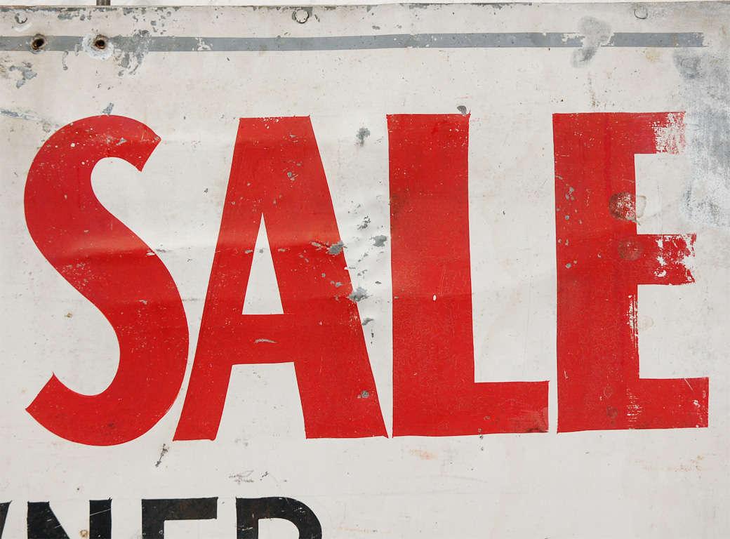 Vintage Pleasantville For Sale Sign For Sale 1