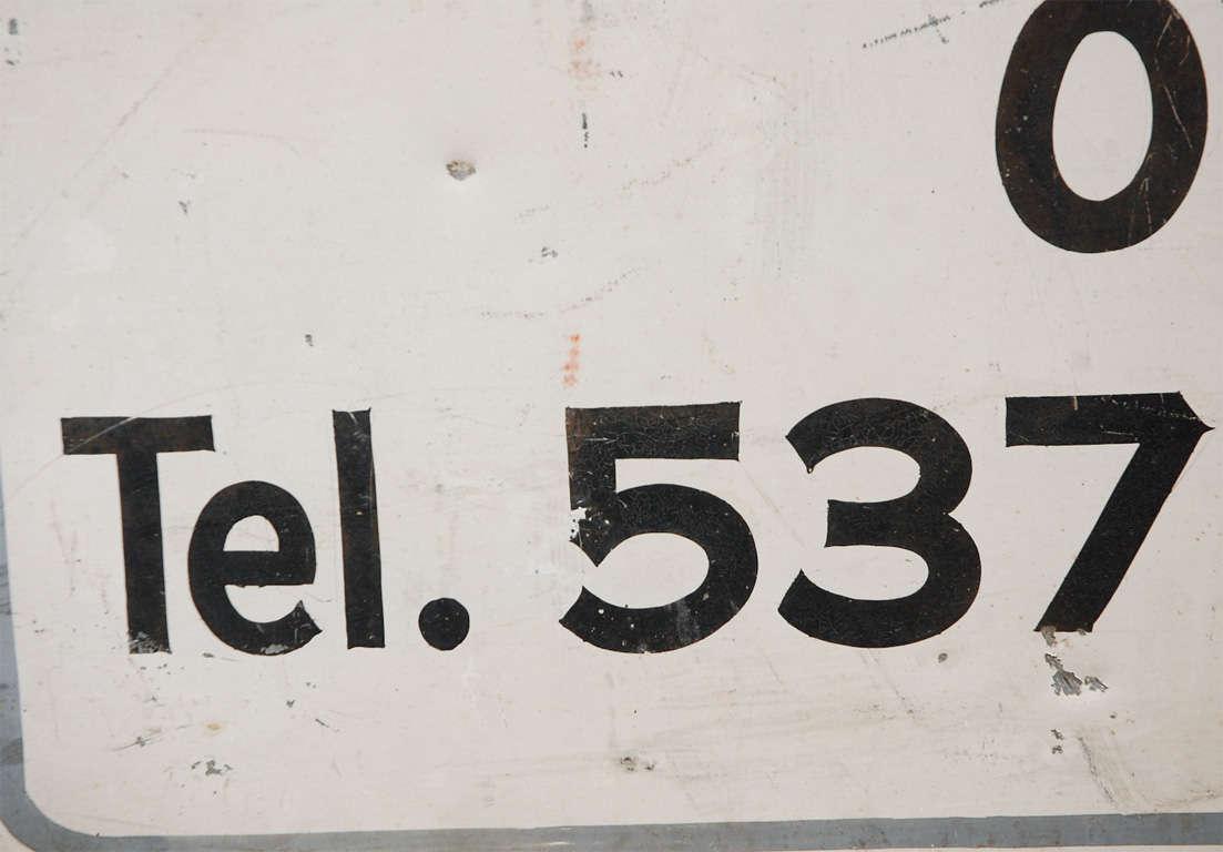 Vintage Pleasantville For Sale Sign For Sale 3