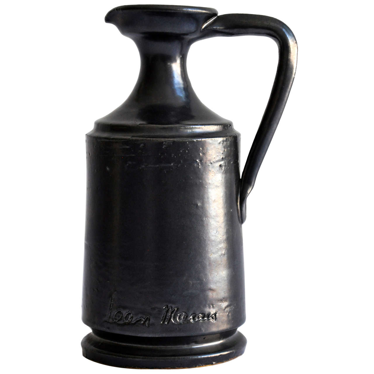 tall ceramic pitcher by jean marais for sale at stdibs - tall ceramic pitcher by jean marais