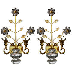 French Bagues Sconces Circa 1930