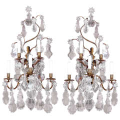 Antique Superb Pair Of Sconces