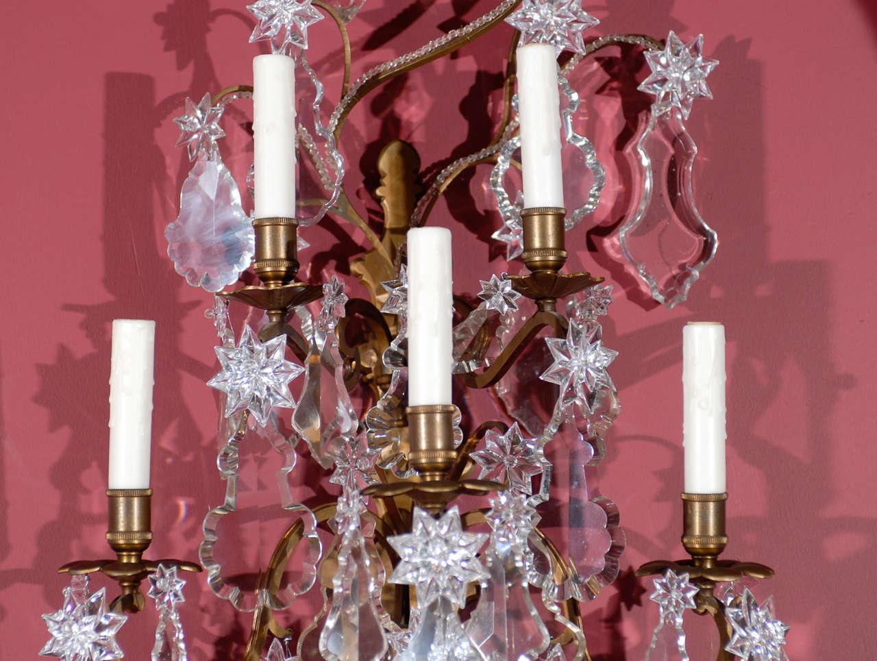 Louis XV Antique Superb Pair Of Sconces For Sale