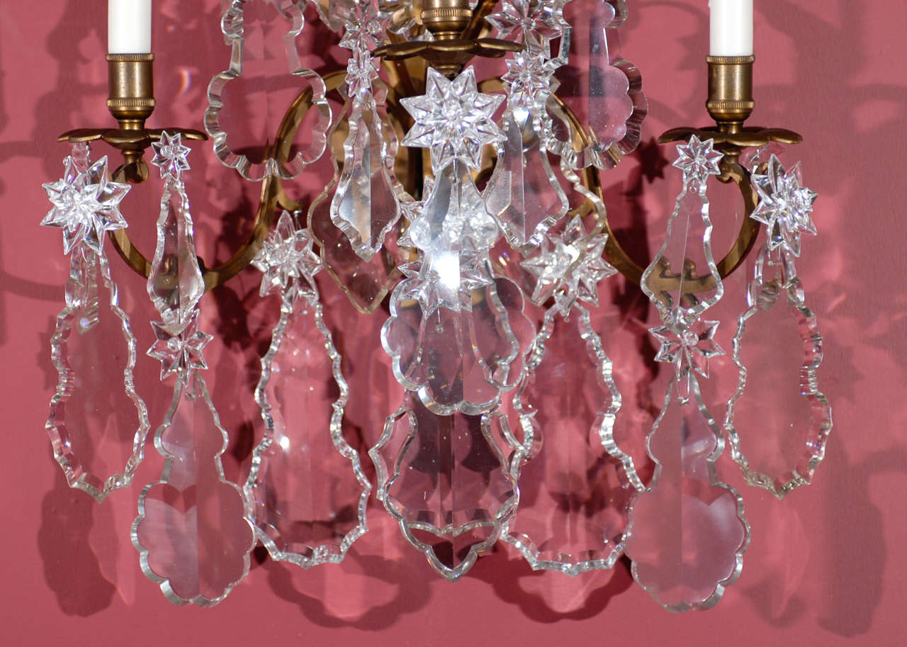 French Antique Superb Pair Of Sconces For Sale