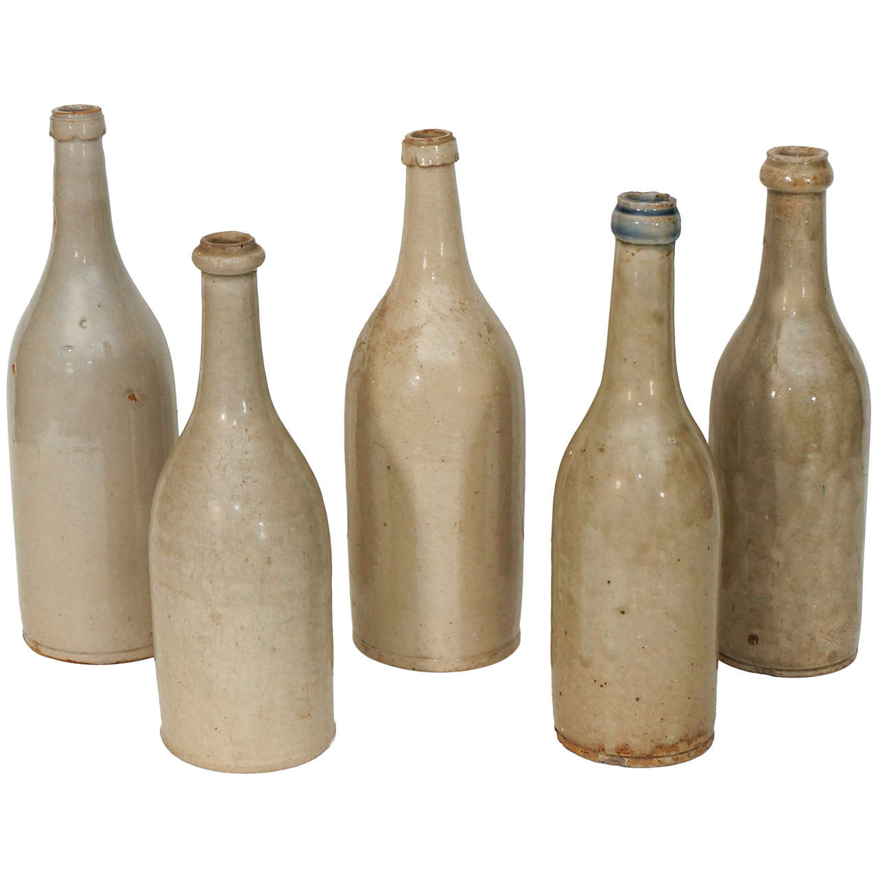 Ceramic Wine Bottles At 1stdibs