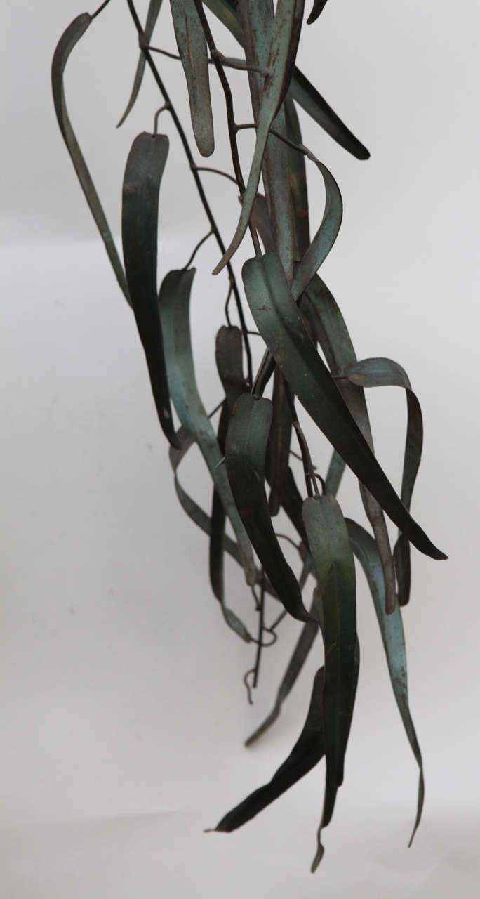 20th Century Italian Iron Sculpture of Tree For Sale 2