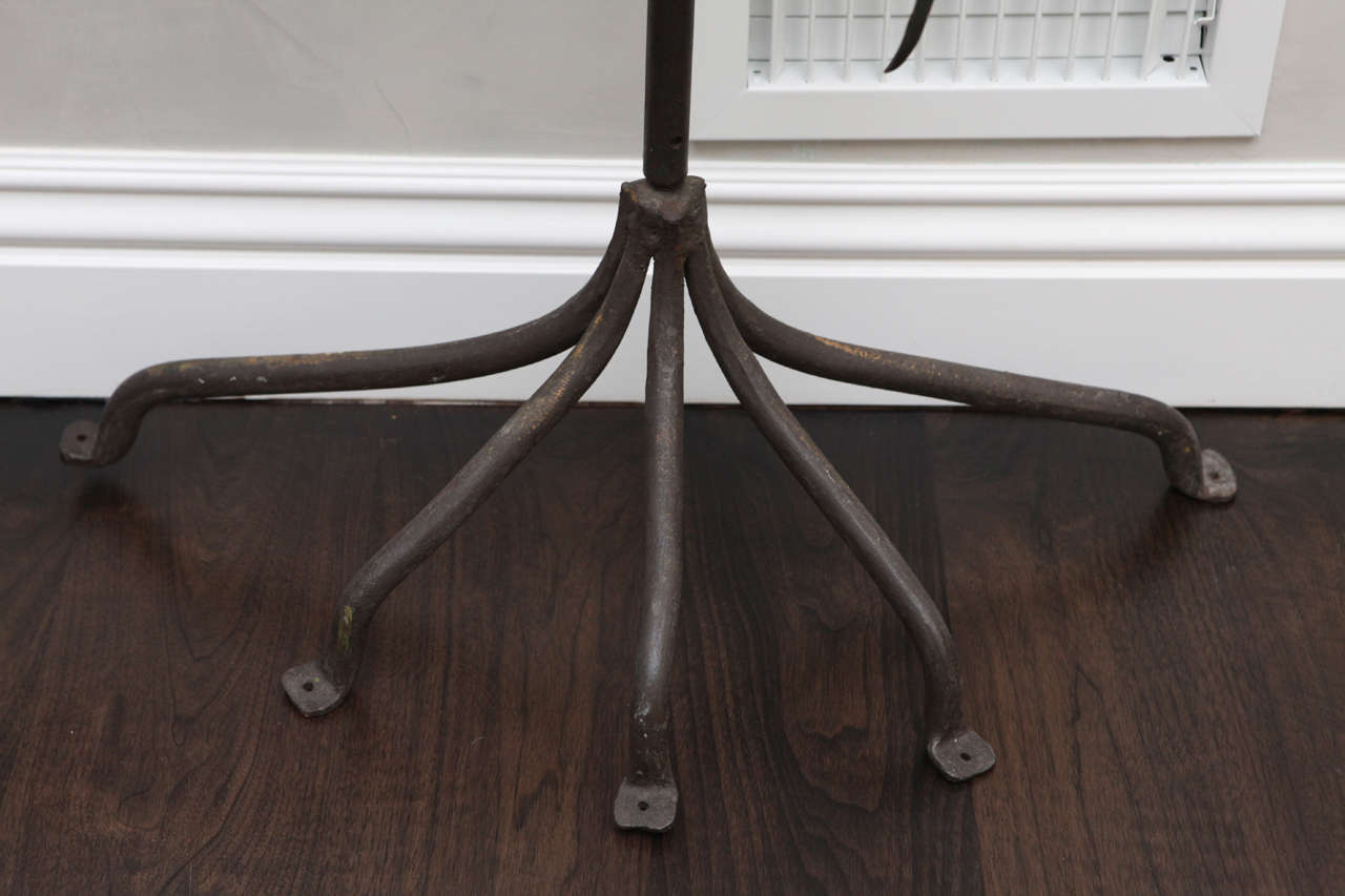 20th Century Italian Iron Sculpture of Tree For Sale 3
