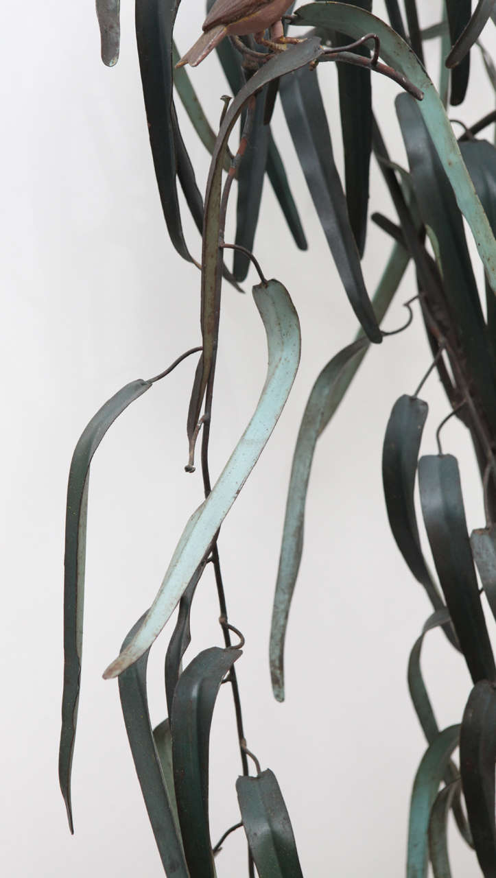20th Century Italian Iron Sculpture of Tree For Sale 4