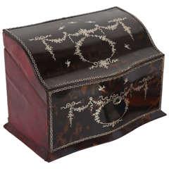 1900s English Tortoiseshell Letter Box