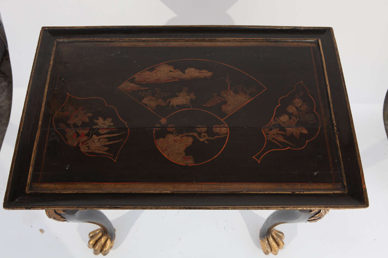 19th Century English Chinoiserie Table For Sale 3