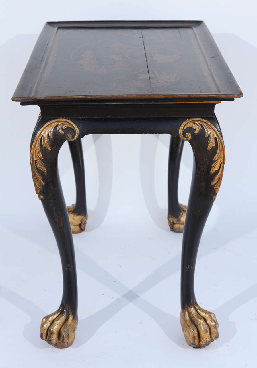 19th Century English Chinoiserie Table For Sale 5
