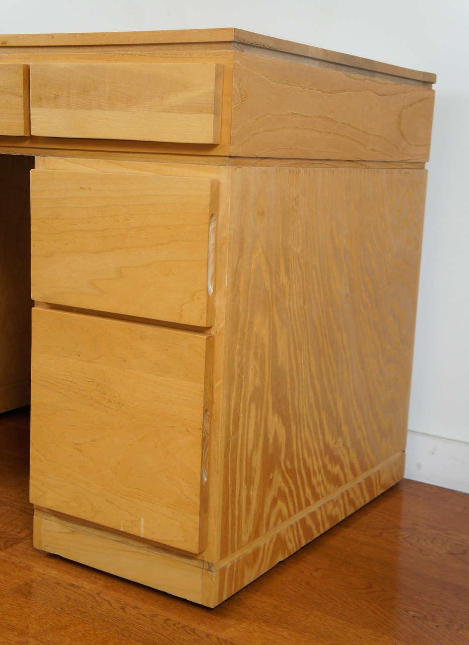 Oak Tribeca Desk For Sale