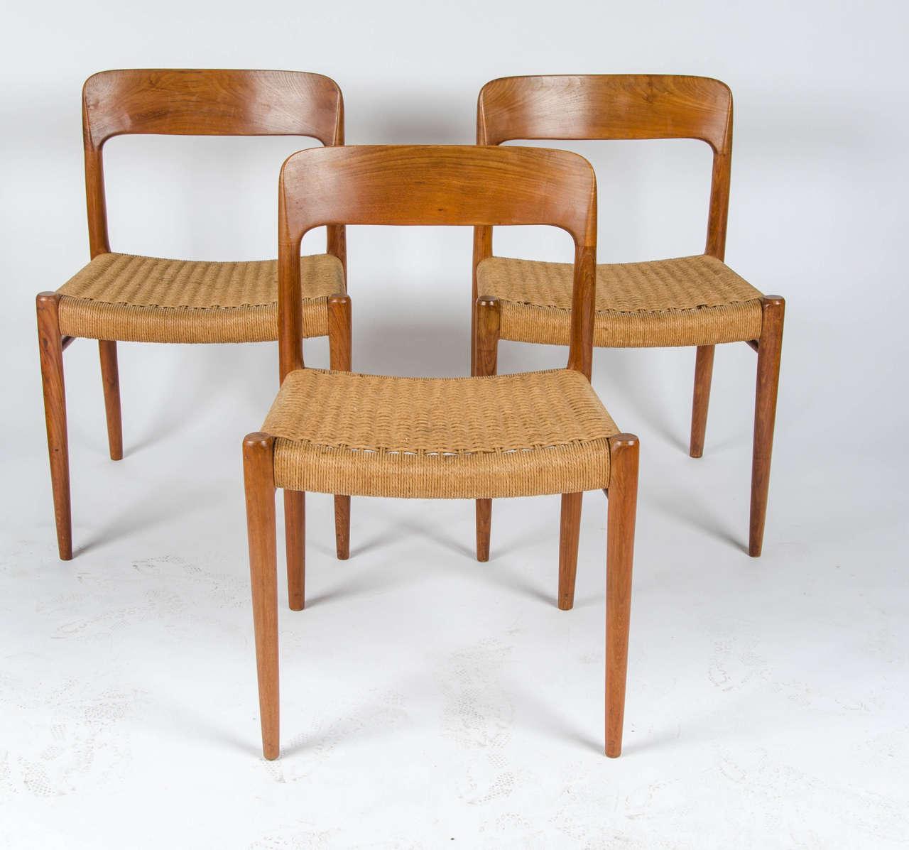 Niels O. Møller For JL Möller, Model 75 Chairs 2