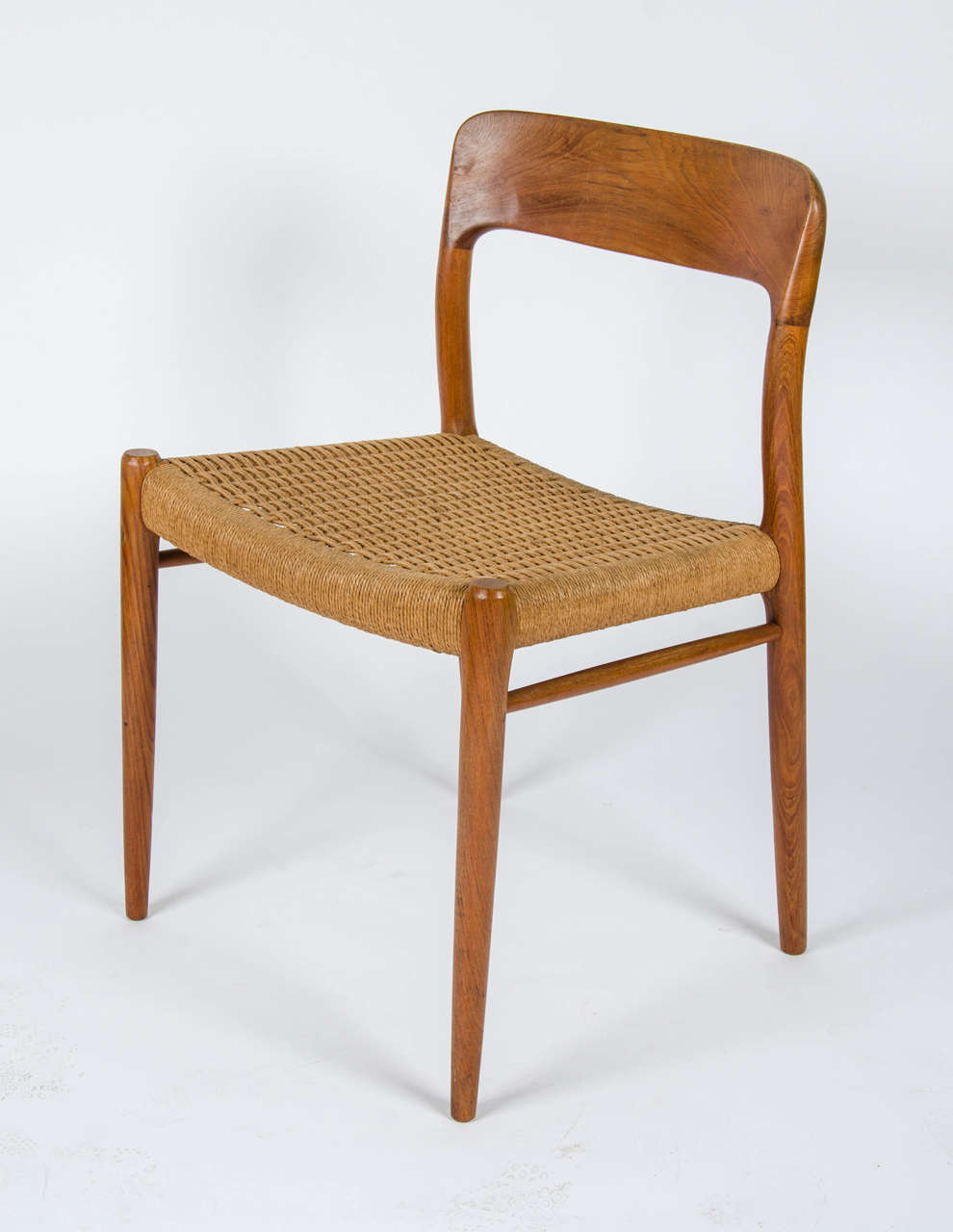 Delightful Niels O. Møller For JL Möller, Model 75 Chairs 3